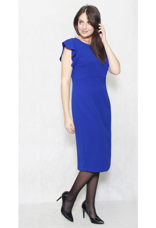 Ronni Nicole Colbolt Cap Sleeve Pencil Dress