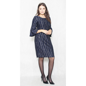 Jessica Howard Bell Sleeve Sheath Cocktail Dress