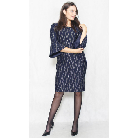 Jessica Howard Bell Sleeve Sheath Cocktail Dress