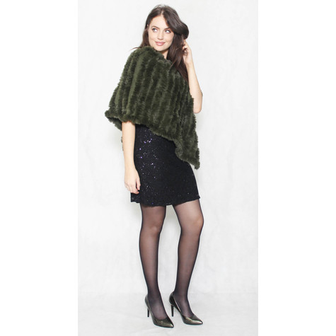 Jayley Hunter Green CASHMERE BOLERO