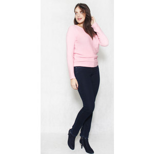 Twist Soft Rose Light Rib Top