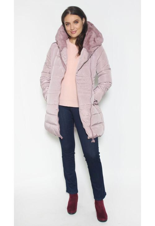 Laura Jo Pink Puffa Hooded Winter Coat Pamela Scott
