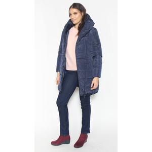 Laura Jo Navy Puffa Hooded Winter Coat