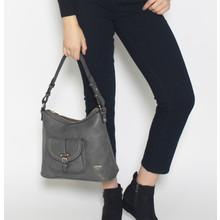 Hampton Grey Hobo Pocket Bag