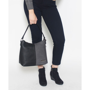 Gionni Black & Grey Handbag