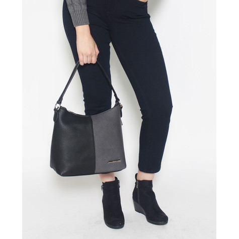 Gionni Black & Grey Handbag