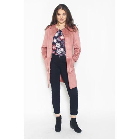 Zapara Antique Rose 3/4 Length Jacket