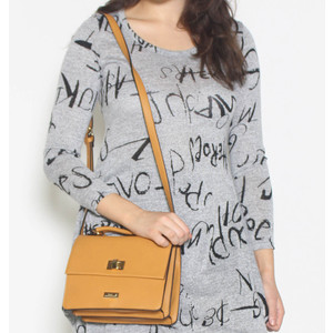 Gionni Mustard Cross Body Handbag