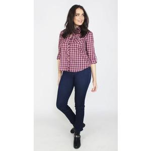 Twist Red & Blue Check Shirt