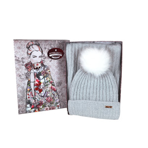 Something Special Grey Hat & Scarf Gift Set