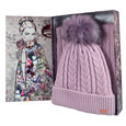 Something Special Lilac Hat & Scarf Gift Set