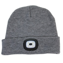 Something Special Grey Rechargeable LED Touch Hat