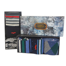 Something Special Men's Navy 3 Sock Gift Set