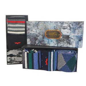 Something Special Men's Navy 3 Sock Gift Set