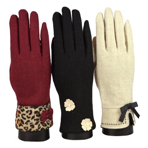 Something Special Black Luxury Gloves