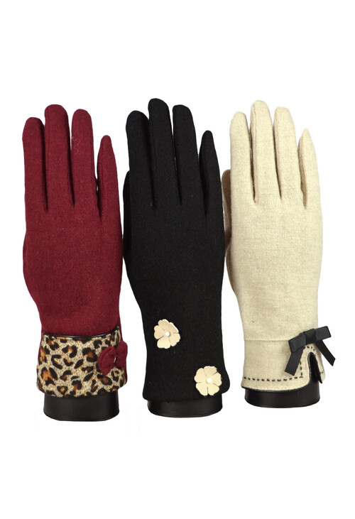 Something Special Black Luxury Gloves