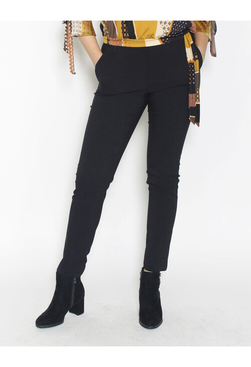 Zapara Black City Trousers