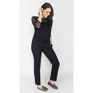 Zapara Black Lace Sleeve Top