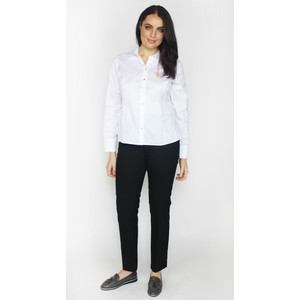 Twist White Button Up Shirt