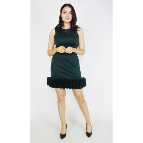 Donna Ricco Hunter Green Cupcake Dress
