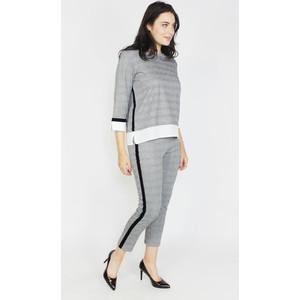 Zapara 2 in 1 Black & Grey Top