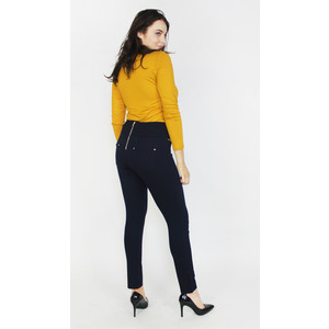 SophieB Ochre Turtle Neck Top