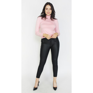 SophieB Blush Turtle Neck Top