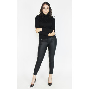 SophieB Black Turtle Neck Top