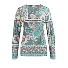 Gerry Weber Jade Patchwork Print Top