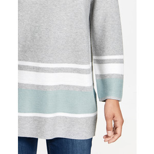 Gerry Weber 3/4 Sleeve Pattern Strip Knit