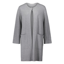 Betty Barclay Long Grey Open Knit
