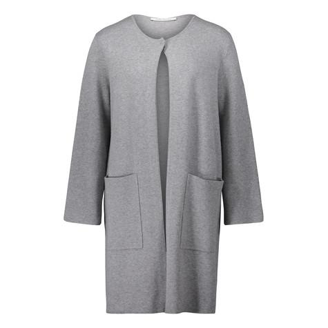 Betty Barclay Long Grey Open Knit
