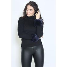 Fashion Kingdom Maryne Faux Fur Wrist Warmer