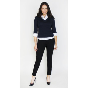 Twist Navy & White 2 in 1 Top