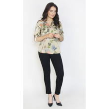 Twist Honey Floral Print Blouse