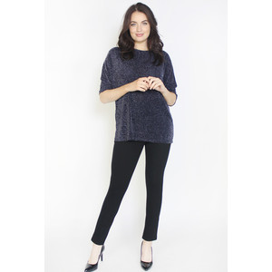 Dreamo Navy Flick Detail Loose Top