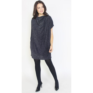Dreamo Navy Sliver Flick Loose Dress