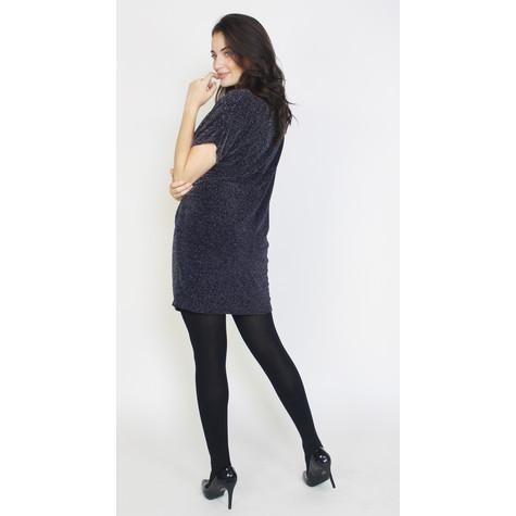 Dreamo Navy Sliver Flick Loose Dress