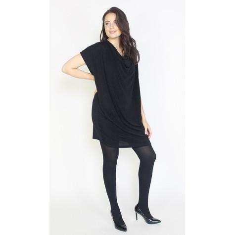 Dreamo Black Sliver Flick Loose Dress