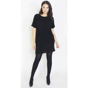 Dreamo Black Silver Flick 2 Pocket Dress