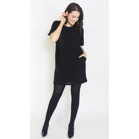 Dreamo Black Silver Flick 2 Pocket Dress