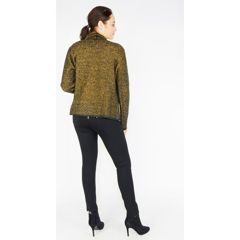 SophieB Anthra Open Knit