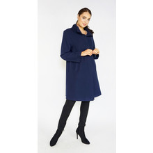 SophieB Navy Button Up Coat