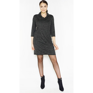 Zapara Anthra Cowl Neck Dress