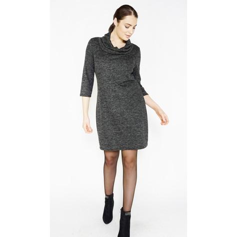 Zapara Anthra Cowl Neck Dress