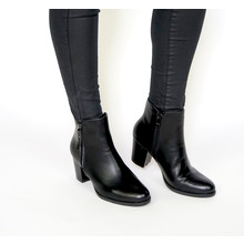 Girlhood Black Ankle Zip Boots