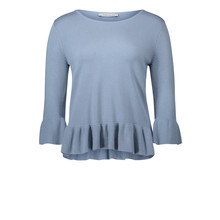 Betty Barclay Cyan Round Neck Knit