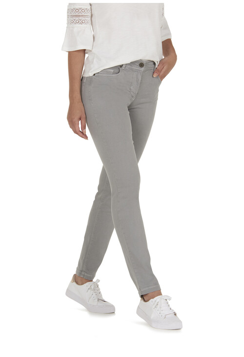 Betty Barclay Light Graphite Basic Trousers