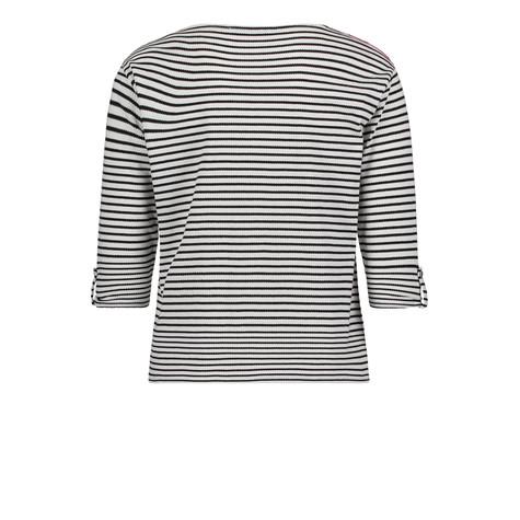 Betty Barclay Black & White Strip Sweatshirt