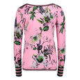 Betty Barclay Rosé/Green Floral Print Knit